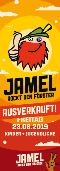 Forstrock 2019 Kinder-Ticket Freitag, 23. August